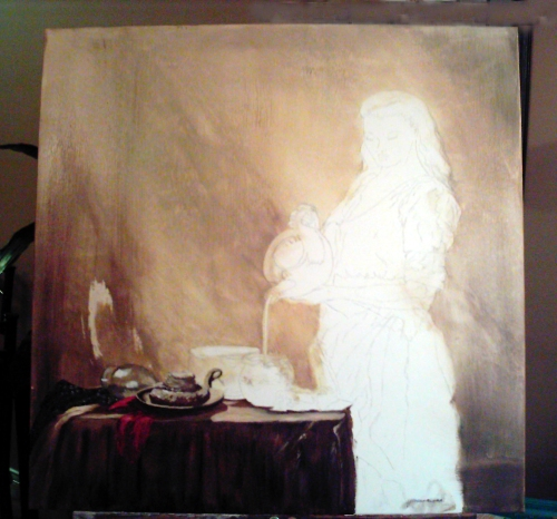 Mennonite Milkmaid