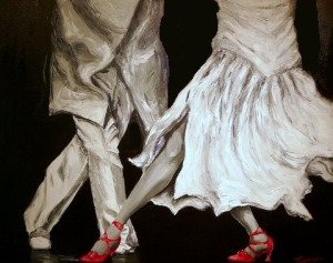 Salsa - Oil on canvas ©