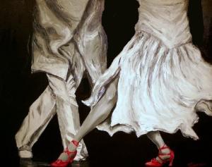 Salsa - Oil on canvas ©