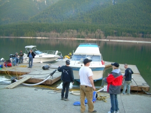 Alouette Lake - FX team at work 2
