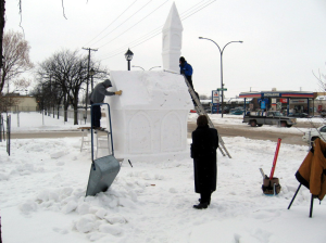 Building a Snow Church