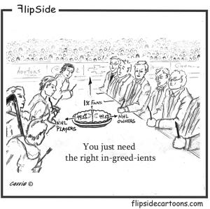 NHL Pie with Flipside 1