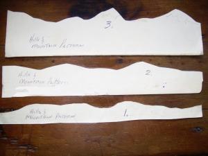 3 Diorama mountain patterns 1