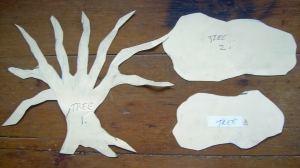 Diorama tree patterns