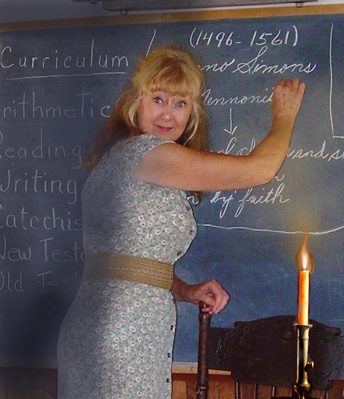 Carrie in library with the candlestick 1