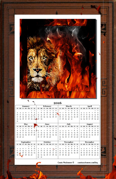 1 Thumbnail Lion Calendar 2016